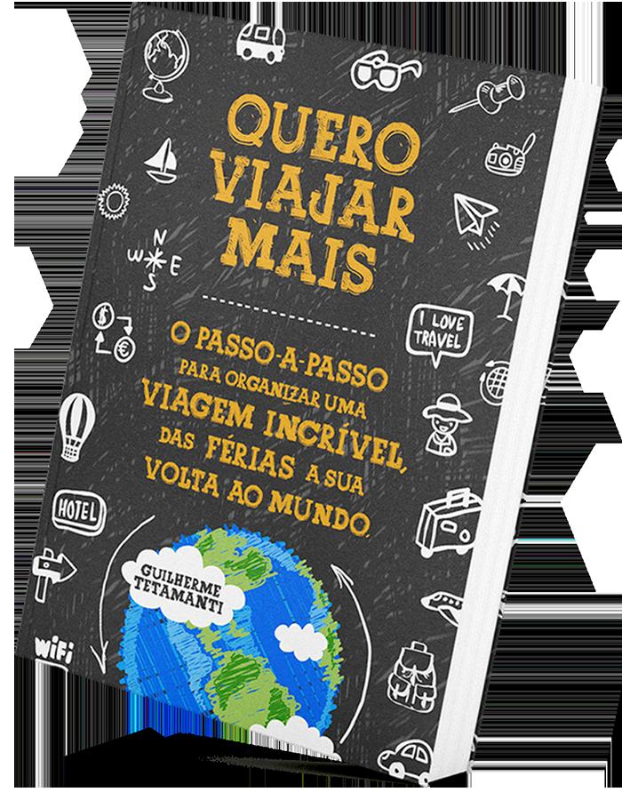 Livro Quero Viajar Mais